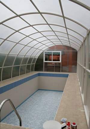 Навесы для бассейнов