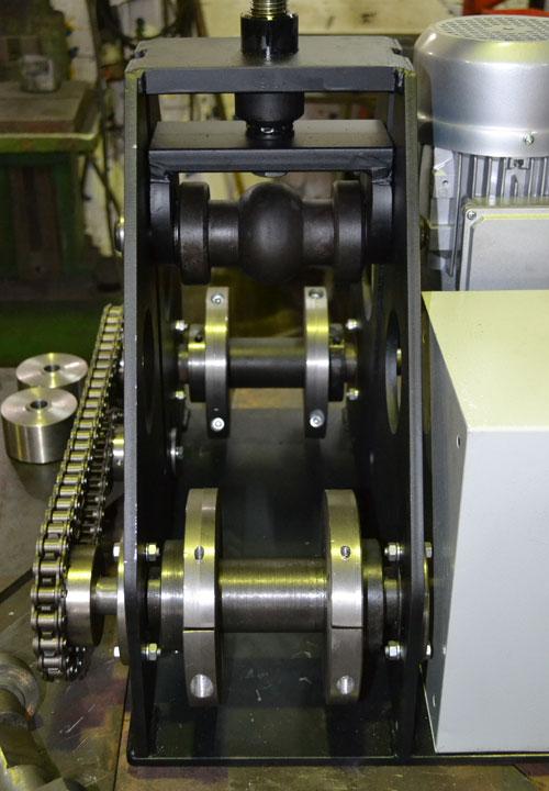 Ролики профилегиба ПГМ-6 для гибки трубы 80х80