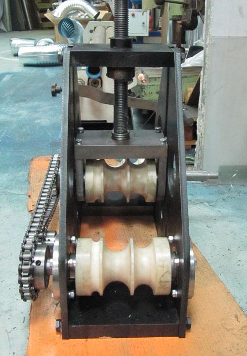 Ролики профилегиба ПГМ-6 из капролона для гибки круглой трубы с декоративным покрытием, нержавеющей или алюминиевой трубы
