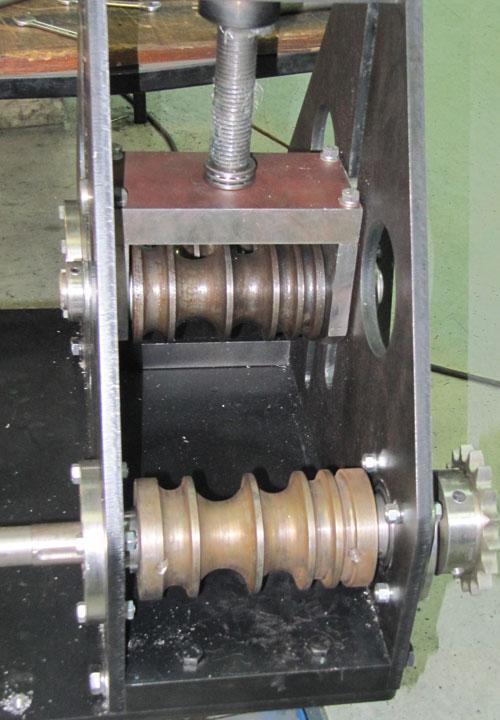 Многоручьевые ролики профилегиба ПГМ-6 для гибки круглых труб