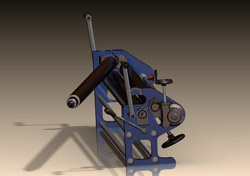 Вальцы ручные ВТР - низкая цена, высокое качество валковых станков